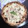 Mushroom and Bacon Pizza bianca  キノコとベーコンのピッツァビアンカ