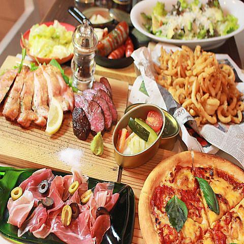 フライドポテト・アボガド料理専門店♪女子会やママ会にも大人気のお店◆貸切も◎