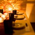 【10~20名様】大人数様でのご宴会にも最適な個室席をご用意しております。周りを気にすることなくお過ごし頂けるプライベート空間でのひと時をお楽しみください。