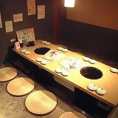 【4~6名様】記念日や接待でもご利用いただける落ち着いた個室!!