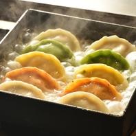 1番人気の羽根餃子は600円から♪匂いも気になりません☆