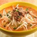 料理メニュー写真濃厚胡麻の担々麺(辛味)