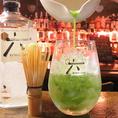 地酒・日本酒を使ったカクテルを新提案!抹茶×日本のジン「六」でつくる兼六。金沢に来たら是非。抹茶の香りもお楽しみ下さい