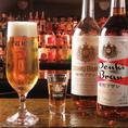 ビールの飲み方の新提案「電気ブランと生ビール」夜は短し恋せよ乙女で一躍人気に!ブランデーのブランのショットと生ビールを交互に飲むのがツウ!お酒の好きな方に特にオススメ