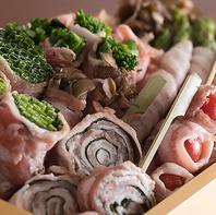 食の宝庫『福岡・博多』で大人気の野菜巻き串も♪