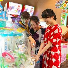 キッズに嬉しいゲームコーナーも☆子供連れも大歓迎です!
