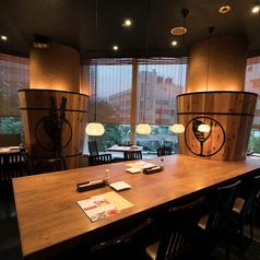 魚とワイン サカナメルカート・ゼン 愛宕グリーンヒルズ店の雰囲気1