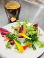 料理メニュー写真旬野菜の自家製バーニャカウダ