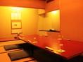 (2F)大切な方との会食に最適な個室。なんと専用のお手洗いも完備!