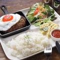 料理メニュー写真ハンバーグプレート≪TOPPONG≫