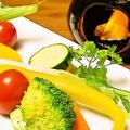 料理メニュー写真野菜のバーニャカウダ