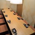 ■店内には上質な和空間が広がります。当店自慢の個室は、2~最大28名様までご利用可。デートやご友人とのお食事、接待、女子会、大人数での会社宴会など多彩なシーンに対応致します。ご利用・ご予約などお気軽にお問い合わせください!旬の食材をふんだんに使用した逸品料理の数々をご用意しております。