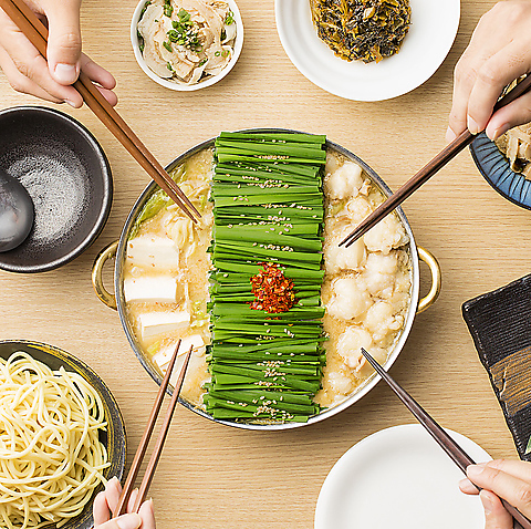 博多の超人気もつ鍋店!こだわりもつに秘伝のスープ…味は本物!