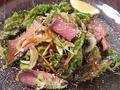 料理メニュー写真自家製ローストビーフ サラダ風