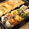 料理メニュー写真【名物】 ごちそう五種盛り羽根餃子 10ヶ入