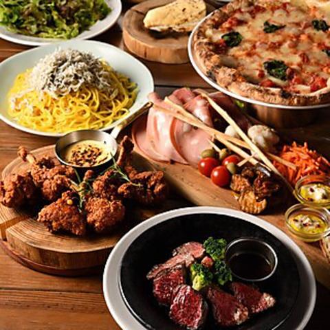 「VANSANスペシャルコース」お食事8品+飲み放題付き