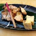 料理メニュー写真地鶏さんしょ焼