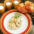 料理メニュー写真~2時間飲み放題付き~【学割プラン】チキンフリカッセ~チーズのソース~や自家製ホールケーキ付全7品