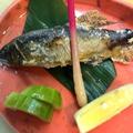 料理メニュー写真千曲川産天然鮎塩焼