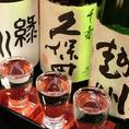 【利き地酒 Bセット 950円(税抜)】※写真はイメージです。