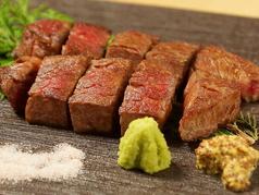 料理メニュー写真ヒレ肉