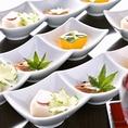 気の利いた一品料理…目で愉しみ音で感じ舌で味わう…五感で感じていただけるお料理の提供を志します。