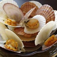 帆立の稚貝バター醤油焼