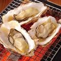 料理メニュー写真厚岸直送!殻付き牡蠣の炭焼き