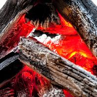 北海道・駒ヶ岳の木炭