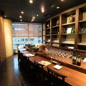 魚とワイン サカナメルカート・ゼン 愛宕グリーンヒルズ店の雰囲気3