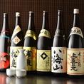 日本酒や焼酎など豊富にお酒を取り揃えております♪日本各地の地酒をご用意しております!入荷状況によってはご用意できない銘柄もございますのでお気軽にお問合せください!