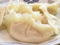 料理メニュー写真三種海鮮の水餃子