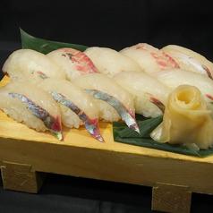 料理メニュー写真握り寿司