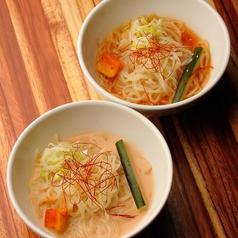 オリジナル 白ごまスープの「仙蔵冷麺」