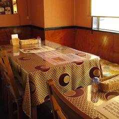 4名様テーブル席です。