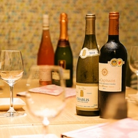 ウメ子三宮店 自慢のワインのラインナップ!