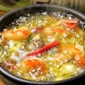 料理メニュー写真海老とキノコ
