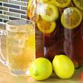 【自家製漬け込みハイボール】人気No.4は、レモンハイボール!レモンサワー好きも楽しめる!間違いのない美味しさの組み合わせです♪
