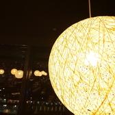 大阪の夜景を堪能できる2人テーブル席♪デートにも最適です◎