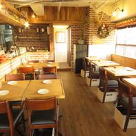 【店内プチリニューアル!】テーブル&カウンターは25席