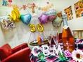 1日1組限定バルーンサプライズ☆もできる!サプライズもカリブルにお任せ!誕生日・女子会・記念日・歓送迎会などにオススメです。飲み放題付コース4000円~ご用意致します。