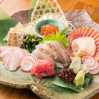 社長自ら仕入れる新鮮な魚介と野菜