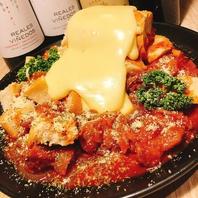 話題のパネチキン♪お肉とチーズの融合