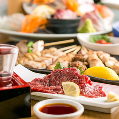 漁業組合浜の包丁 肉と魚 肉浜 にくはま 新橋本店の特集写真