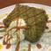【抹茶ベース】抹茶とキャラメルのシフォンケーキ