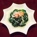 料理メニュー写真ブロッコリーの蟹肉あん掛け