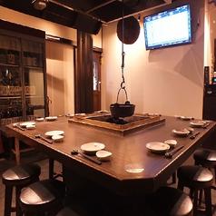 【6~12名様で貸切可能!】囲炉裏を囲むテーブル席関内 馬車道 居酒屋 和食 個室 飲み放題 宴会 忘年会 2次会 歓送迎会 日本酒 貸切 接待