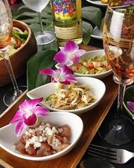 ハワイアン前菜盛り合わせ