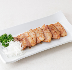 豚肉のワイン漬け味噌焼き