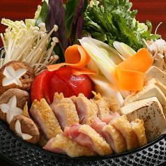 伊達鶏のトマトすき焼鍋